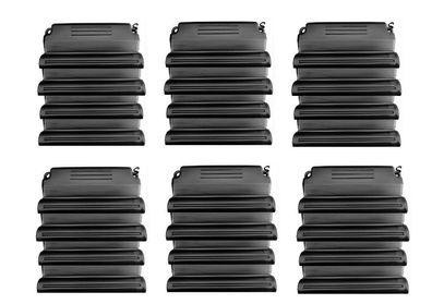 """3 x well2wellness® PVC Druckschlauchtülle mit Gewinde 1 1//2/"""" x 32-38 mm"""