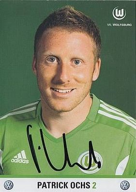 Hasan Salihamidzic Autogrammkarte VFL Wolfsburg 2011-12 Original Signiert