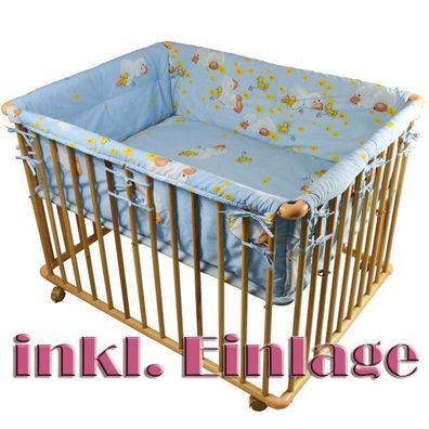 Stoffeinlage 52306-D02 Laufgitter Laufstall 6-eckig Baby Krabbelgitter inkl