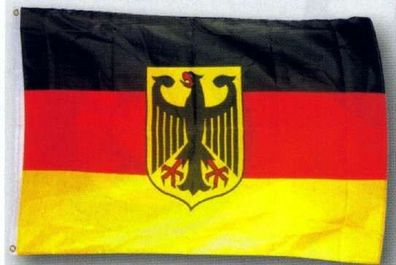Deutschland Adler Fußball Fussball Ball Flagge Fahne 90 x 60 cm