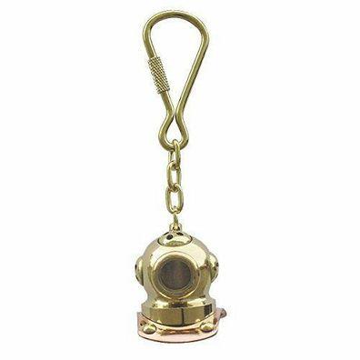 2er Set Bändsel//Schlüsselanhänger aus Baumwolle geflochten L 13 cm-bunt