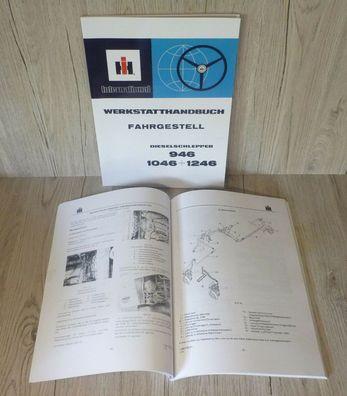 D 246 IHC Werkstatthandbuch für Traktor Dieselmotor D246