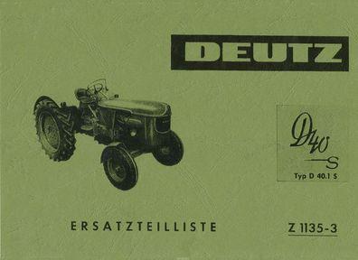 F1L514//51 D25 D25S . Deutz Traktor Ersatzteilliste S/&S Mähwerk  F1L514//50