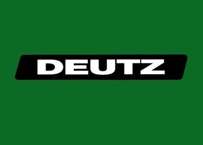 Deutz Fahr Aufkleber Kotflügel D2807 Baureihe Logo Emblem Sticker .