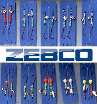 40 Pck Zebco-Brandungsvorfächer Meeresrigs