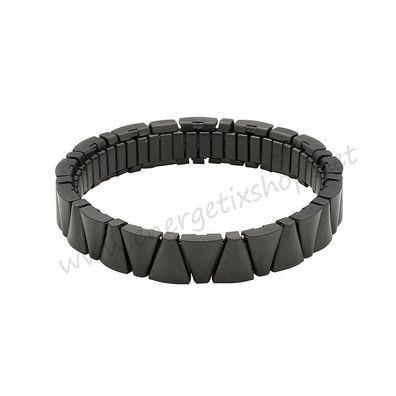 ENERGETIX Damen /& Herren CASUAL Flex Magnetarmband aus Edelstahl bicolor 440