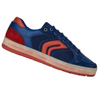 Geox Respira Herren U Ariam A Sneaker Low Top Sneaker Halbschuhe U925AQ DK Royal