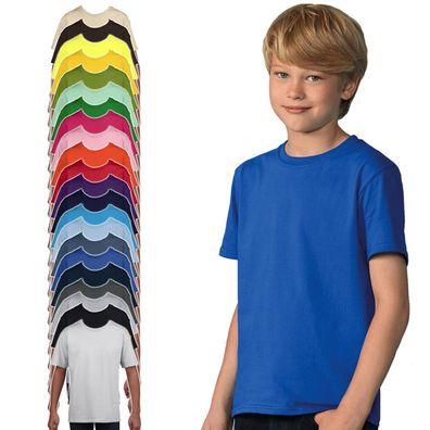dünnes Kinder T-Shirt Baumwolle Kids Exact 190 TK301 Fair Wear NEU 3er Pack B/&C
