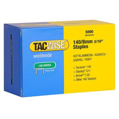 Tacwise 0449 Gewellte Klammern 15mm 1.500 St/ück
