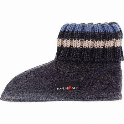 Hüttenschuhe Hausschuhe mit Herzmotiven und Bommeln Winter Indoor Stiefel #6701