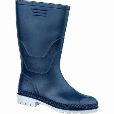 Damen Warmfutter PVC-Stiefel Ralf dunkelblau  Gr 37