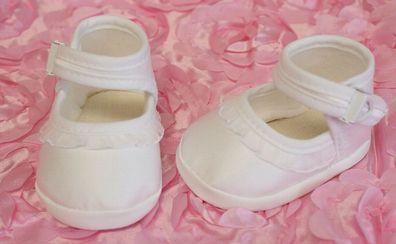 Babyschuhe,Krabbelschuhe Nr.0tc22 Kinderschuhe,Taufe festlich Taufschuhe