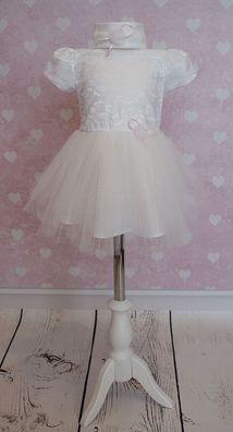 Nr.0a27 Taufkleid Festkleid Taufgewand Kleid Taufe Hochzeit Babykleid