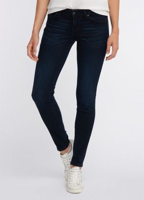Mustang Jasmin Jeggins Damen Jeans, rinsed washed, be flexible, Medium Rise