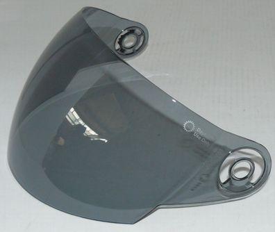 für Motorradhelm Jethelm mit Visier V510 NEU !!! Ersatzvisier Visier klar