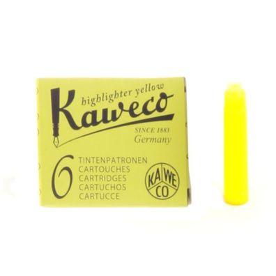 6 Stück Palm Green Grün Kaweco Tintenpatronen kurz