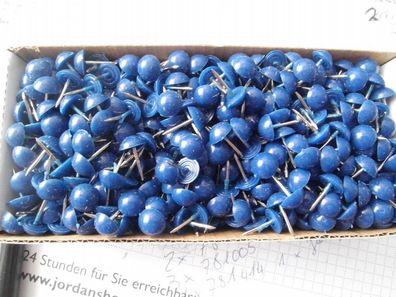 9 mm dm hochgewölbt 50 Ziernägel//Polsternägel in beige Kunststoff Fb 11