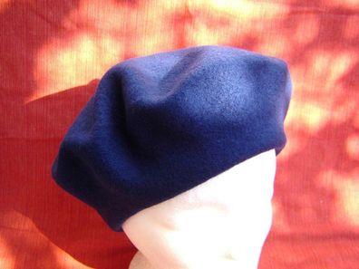 Baskenmütze Damenmütze klassische Baske weiche Wolle Walk dunkles pink