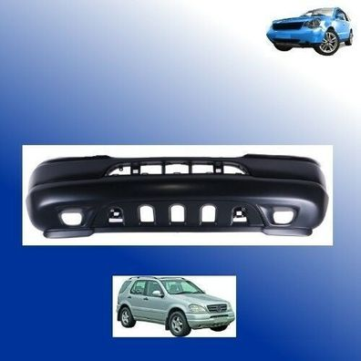 98-01 Stoßstange vorne grundiert Mercedes ML M-Klasse W163 Bj