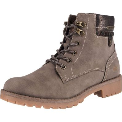 Dockers by Gerli Damen 43FA307 Stiefel Dessert Boots Combat Boots Taupe
