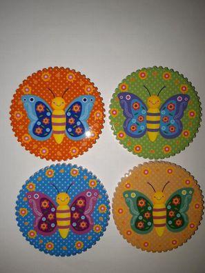 Bloomingville Pins aus Plüsch 10er Set bunt