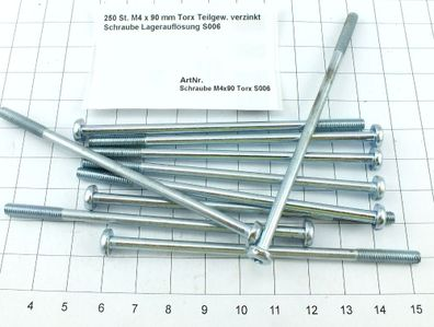M10 x 40 mm Torx Senkkopf DIN 7991 blank Schraube Lagerauflösung S015-50 50 St