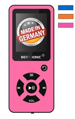 Gelb mit Radio Farbdisplay BERTRONIC Made in Germany BC04 MP3-Player 100h