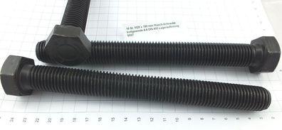 25 St M16 x 80 mm 8.8 Masch.schraube DIN 933 verzinkt SW24 Lagerauflösung S050