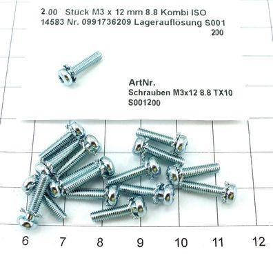 M16 x 80 mm 8.8 Masch.schraube DIN 933 verzinkt SW24 Lagerauflösung S050 25 St