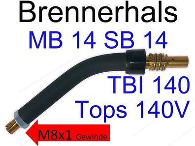 Brennerhals Brennerkörper MB25 TBI 250 SH25 Tops 250 MB SB HP SH 25 PLUS MIG//MAG