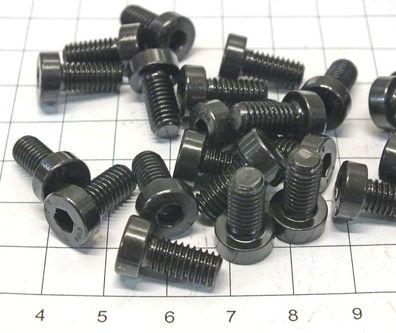 M6 x 10 mm Innen 6-Kant DIN 6912 blank Zyl.Schraube Lagerauflös S225-100 100 St