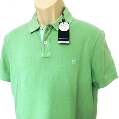 Herrenmode Herren Marc OPolo Poloshirt Regular Fit Garment Dyed Farbe:Mint Gr.M