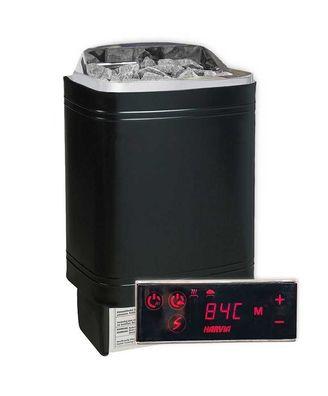 Harvia Cilindro Saunaofen PC90E 9 KW inkl Xenio Saunasteuerung 100 kg Steine