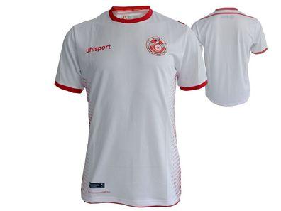 GrS Jersey Fan Uhlsport Xl Fußball Weiß 2018 Home Tunesien Wm Fussballtrikot 8wX0POkNnZ