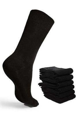 39-46 12 Paar Männer Socken Herren Sneaker Strümpfe 80/% Baumwolle Schwarz Gr