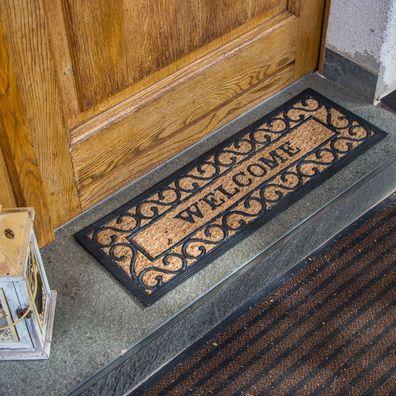 Matte Haustür-Matte mit Pferd schmutzaufnehmende Türmatte mit Bild Fußmatte