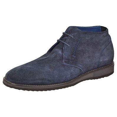 Quintero 703 by SIOUX Business Boot Schuhe Schnürschuhe 36940 Deepblue Blau