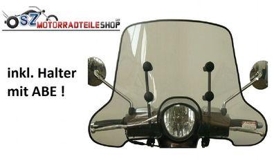 Bj. 2011 Windschutzscheibe Windschild passend f Honda Vision 50 110 NSC