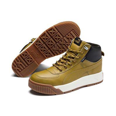 Puma Tarrenz SB Puretex Boots hohe Sneaker 370552 Leder Wasserdicht Moos Green