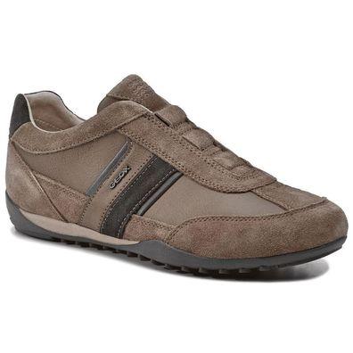Geox Respira Herren U Wells A Low Top Sneaker Slipper Halbschuhe U82T5A Braun
