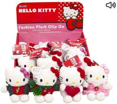 Hello Kitty Plüschfigur Kätzchen Plüschtier Kuscheltier Hase Ente Gelb Pink 15cm