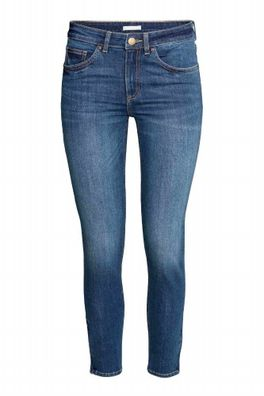 STARK Reduziert ! Zara Ladies Denim Jeans Damen Jeans Skinny Fit BLACK FRIDAY !