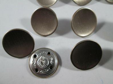 Metall  Knopf Knöpfe 10  stück  alt silber spinnennetz    28  mm groß   #1349#