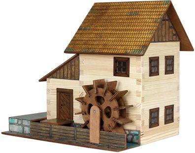 "Modellbau-Set /""Wanderhütte/"" W40 Walachia Holzbausatz Holzbausteine Modellbau Kit"