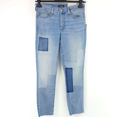 NYDJ Damen Jeans Hose CLARISSA ANKLE Cut Gr 8 14 38 44 Lift Tuck Rosa NP 129 NEU