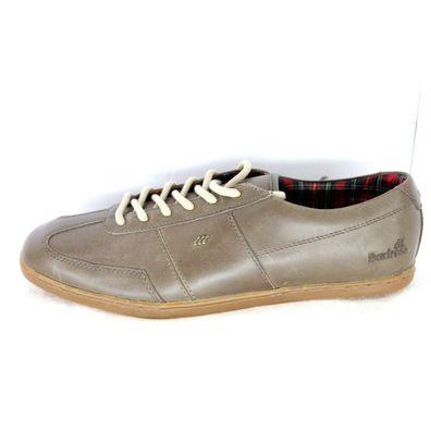 Boxfresh Herren Schuhe Halbschuhe Sneaker 40 41 42 44 45 Leder Grau Np 109 Neu