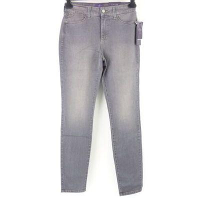 NYDJ Damen Jeans Hose ALINA Legging US 6 D 36 Denim Slimming Fit Grau NP 159 Neu