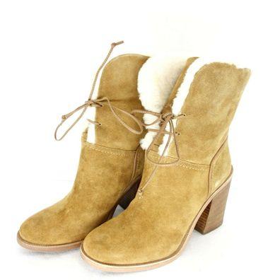Ugg Boots Damen Winter Schuhe Stiefel Stiefeletten Jerene Gr 36 41 Lammfell Neu