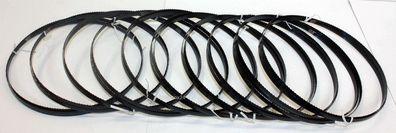 5 x Standard Sägeband 1425 mm x 6 mm x 0,65 mm x 6 Z.p versch.Holzarten Zoll f