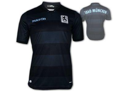 XXL Macron TSV 1860 München Windbreaker Jacke blau Löwen Fan Allwetterjacke S